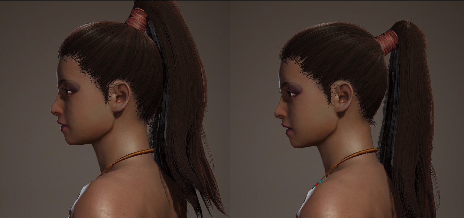 低马尾发型插图7