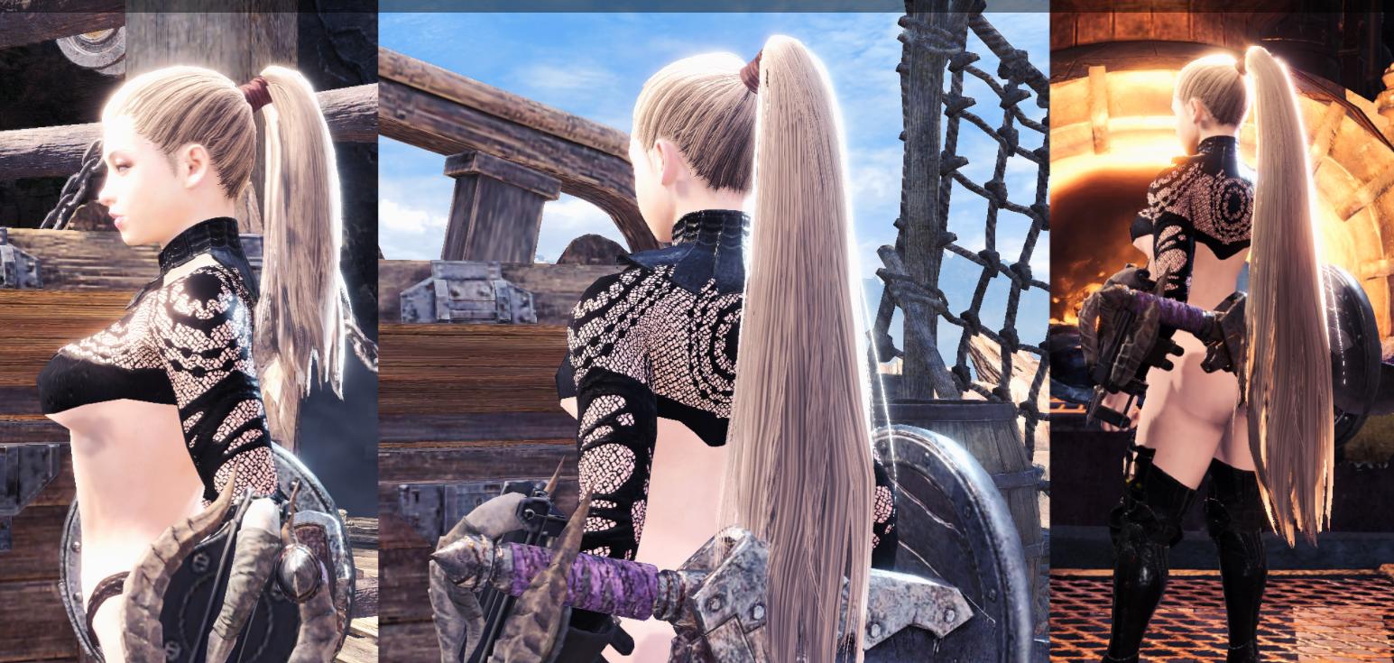 低马尾发型插图1
